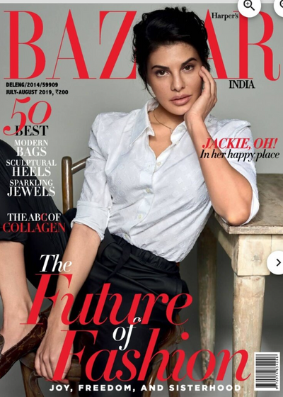 Harper's Bazaar, July-Aug 2019