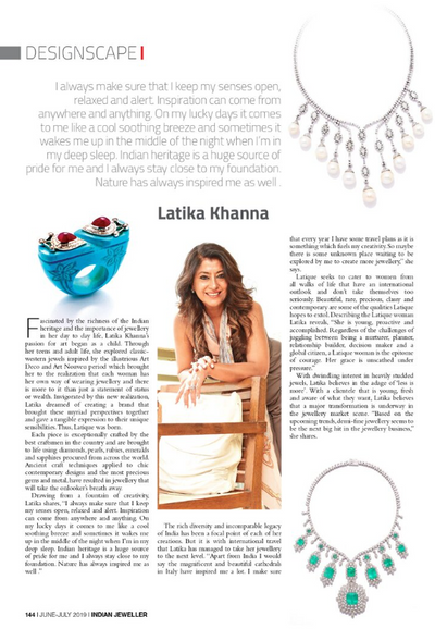 Indian Jeweller, June-July 2019