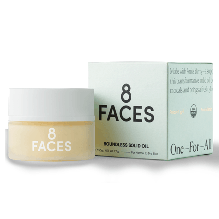 8 FACES Boundless Solid Oil Skincare - Moisturize 8 FACES