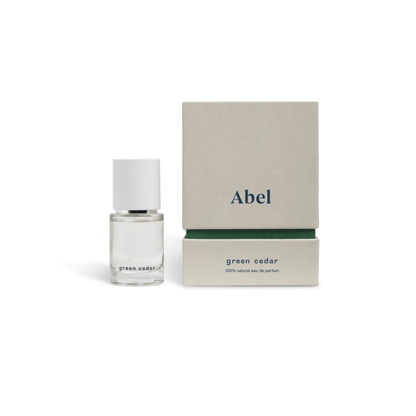 Abel 100% natural eau de parfum : Green Cedar 15ml Fragrance - Perfume Abel