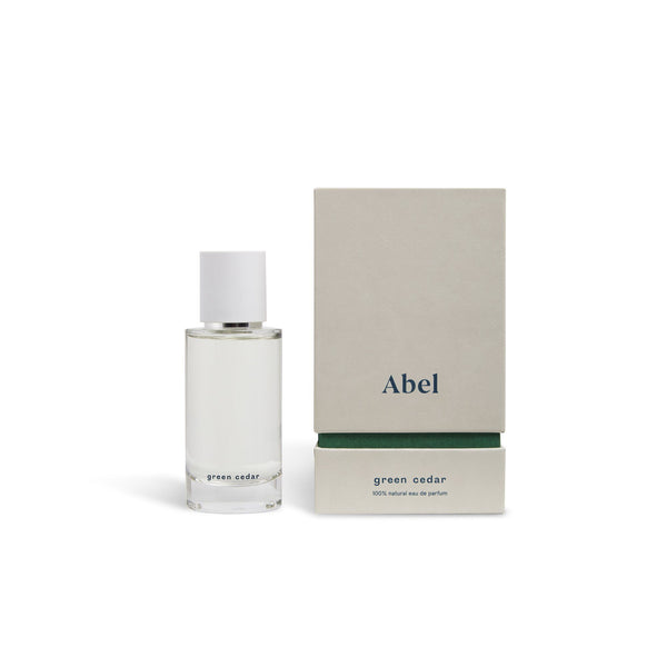 Abel 100% natural eau de parfum : Green Cedar 50ml Fragrance - Perfume Abel