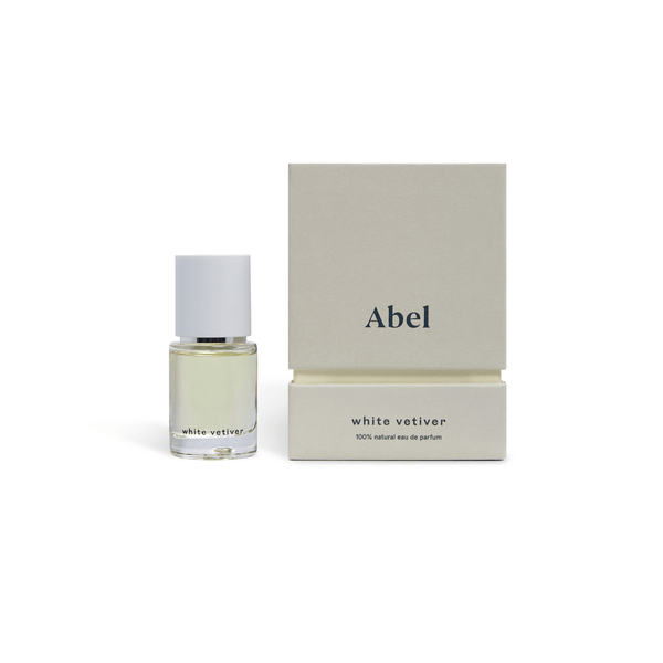 Abel 100% natural eau de parfum : White Vetiver 15ml Fragrance - Perfume Abel
