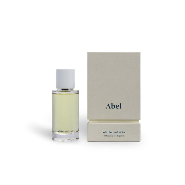 Abel 100% natural eau de parfum : White Vetiver 50ml Fragrance - Perfume Abel