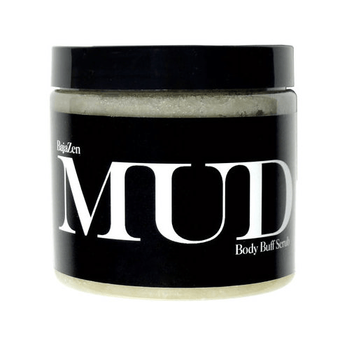 BAJA ZEN- Body Buff Scrub, MUD sea clay + black sea salt Bath & Body - Bath & Shower BAJA ZEN