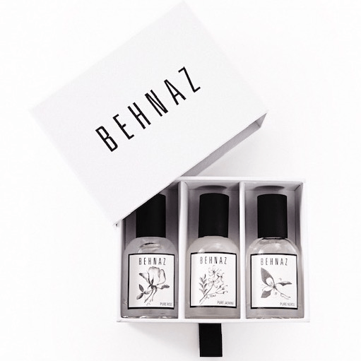 BEHNAZ FRAGRANCE Fragrance Flight Fragrance - Perfume BEHNAZ