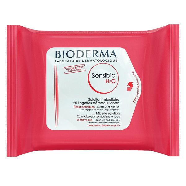 Bioderma Sensibio H20 Wipes Skincare - Cleanse Bioderma