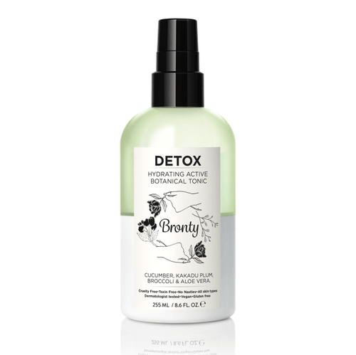 Bronty Beauty DETOX Hydrating Active Botanical Tonic 8.6 oz