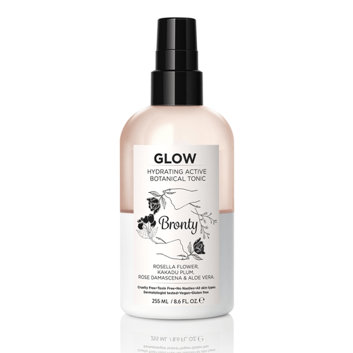 Bronty Beauty GLOW Hydrating Active Botanical Tonic 8.6 oz