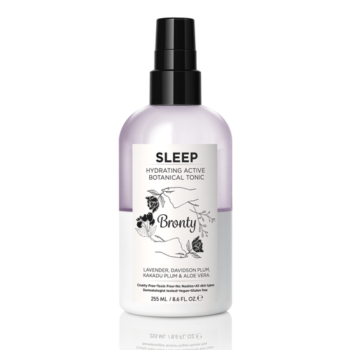 Bronty Beauty SLEEP Hydrating Active Botanical Tonic 8.6 oz