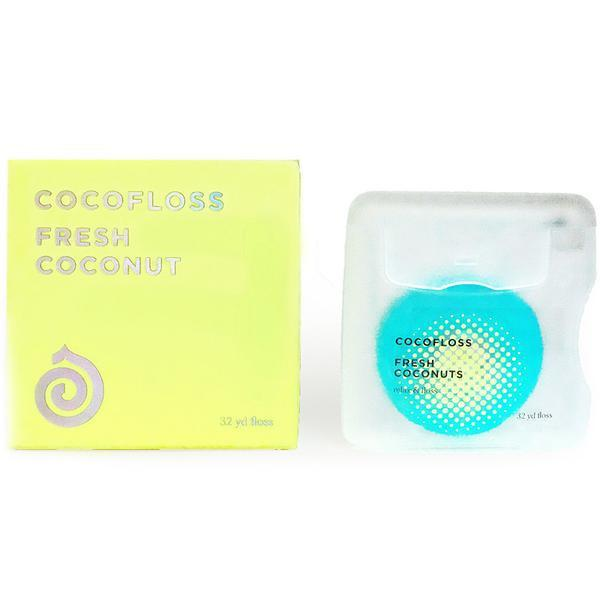 COCOFLOSS Fresh Coconuts Bodycare - Teeth COCOFLOSS