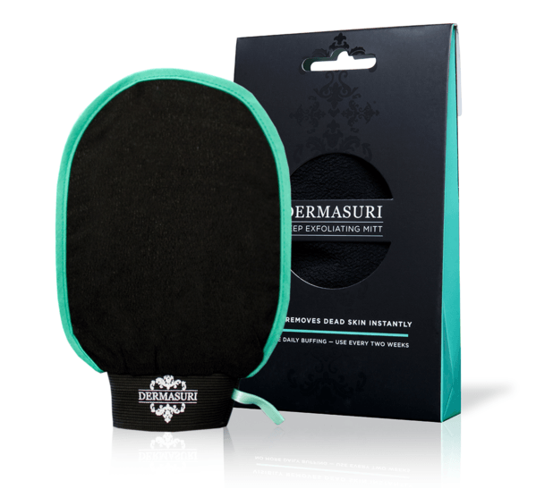 Dermasuri Deep Exfoliating Mitt Bath & Body - Bath & Shower Dermasuri