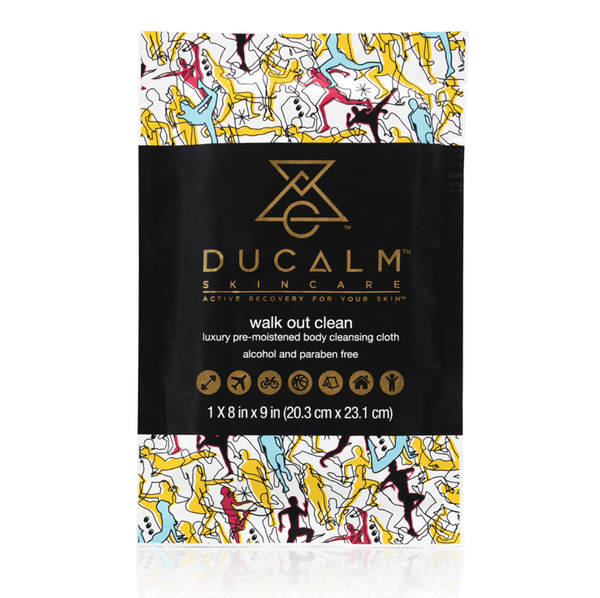 Ducalm Skincare : Walk Out Clean Sheet Skincare - Cleanse Ducalm