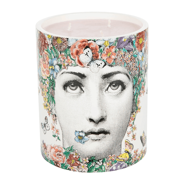 Fornasetti Candle, 900g FLOR DI LINA Fragrance - Candles & Home Scents Fornasetti