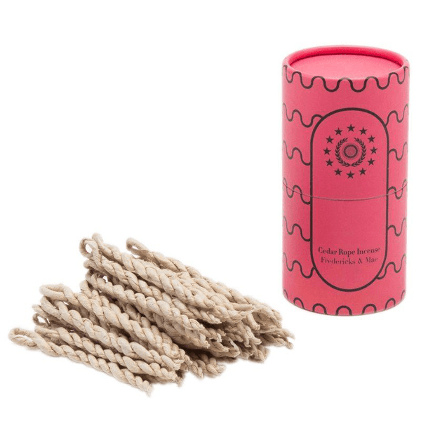 Fredericks & Mae : Incense : CEDAR ROPE Fragrance - Candles & Home Scents Fredericks & Mae