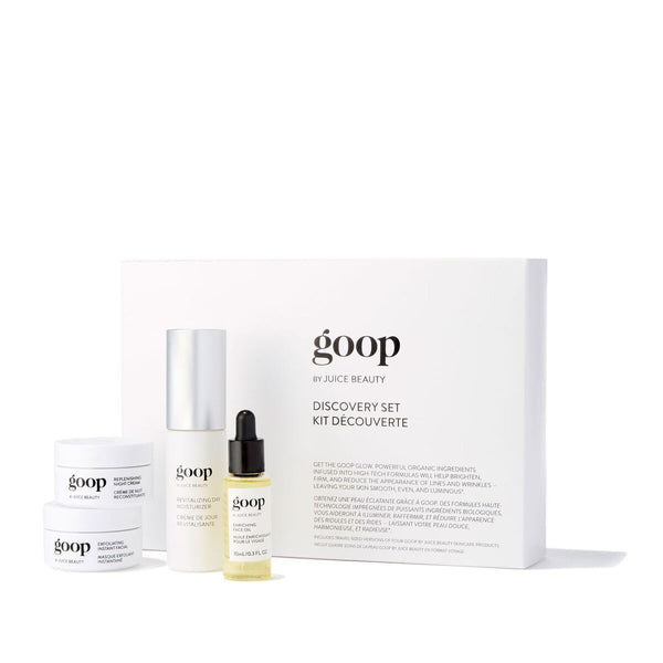 goop Discovery Set Skincare - Travel goop