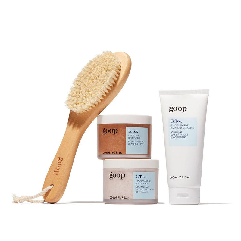 goop G.Tox Ultimate Dry Brush Bath & Body - Bath & Shower goop