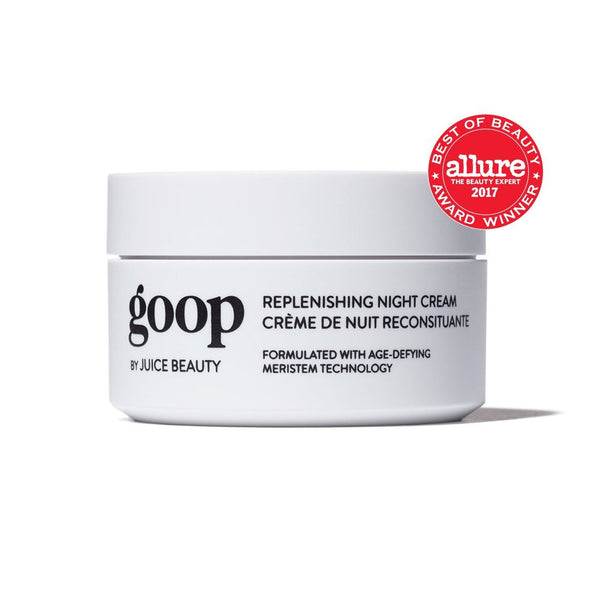 goop Replenishing Night Cream Skincare - Moisturize goop