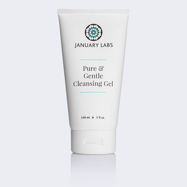 January Labs Pure & Gentle Cleansing Gel Skincare - Cleanse January Labs