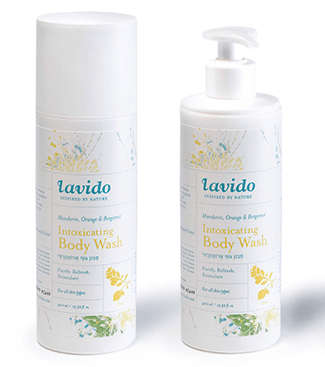 Lavido Mandarin, Orange & Bergamot Intoxicating Body Wash Bath & Body - Bath & Shower Lavido