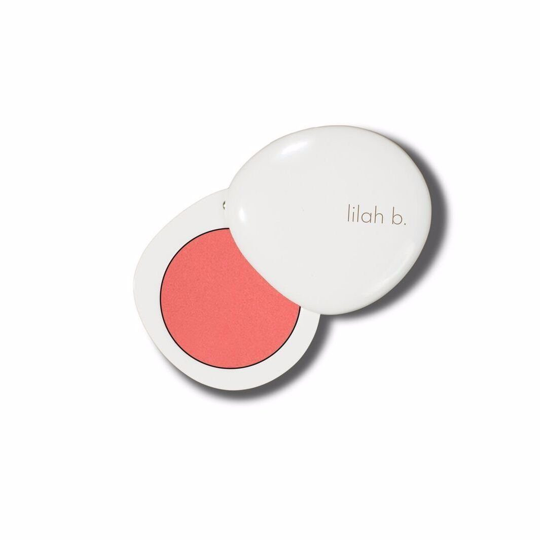 lilah b. Divine Duo™ Lip & Cheek: b.real (light pink) Cosmetics - Cheeks lilah b.