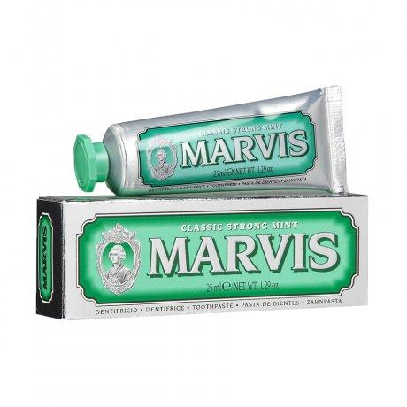 Marvis Toothpaste, Classic Strong Mint - Travel Size Bodycare - Teeth Marvis