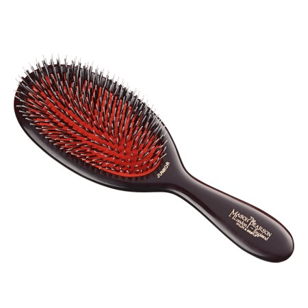Mason Pearson - JUNIOR MIXTURE BRISTLE/NYLON HAIR BRUSH Haircare- Brushes & Accessories Mason Pearson