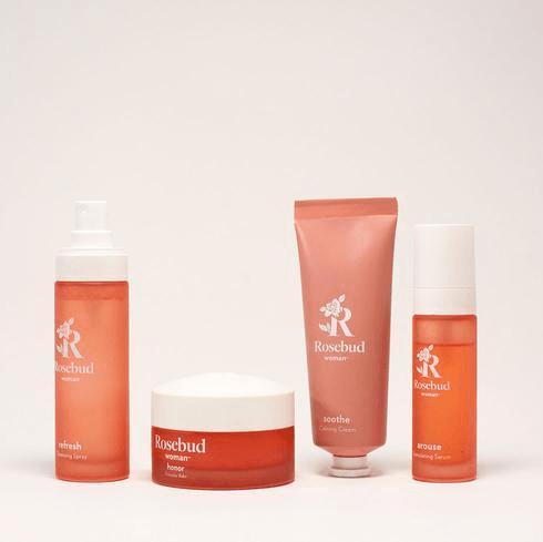 Rosebud Woman the ritual Gift Set Wellness Rosebud Woman