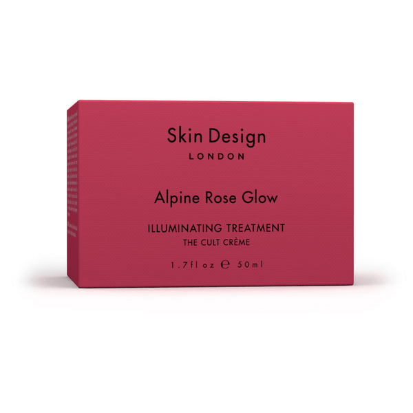 Skin Design London Alpine Rose Glow Skincare - Moisturize Skin Design London
