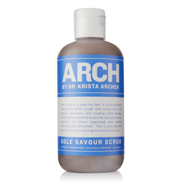 Sole Savour Scrub Bath & Body - Handcare & Footcare Arch