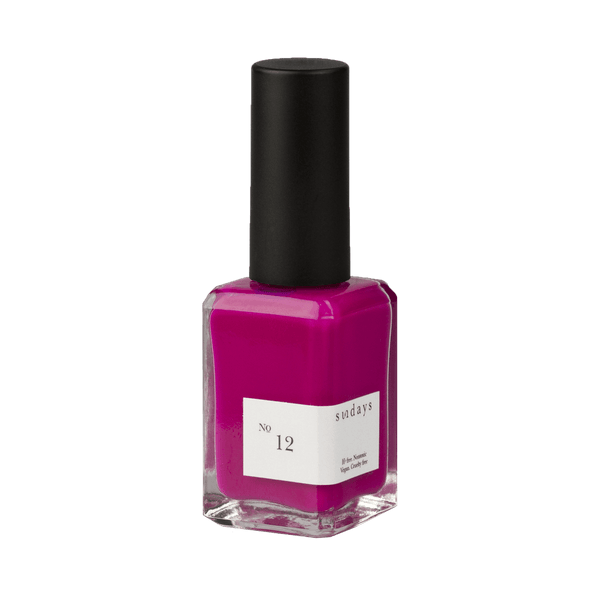 SUNDAYS No.12 Fuschia Nails - Polish Sundays