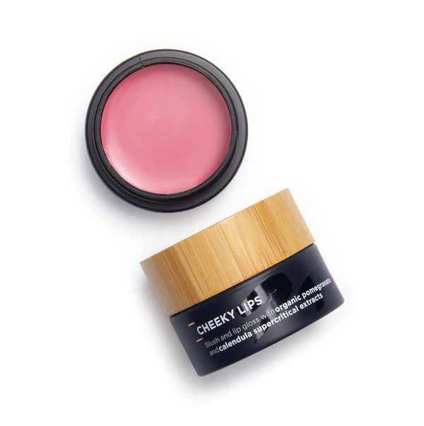 The Organic Skin Co. Cheeky Lips (pot) Cosmetics - Cheeks The Organic Skin Co.