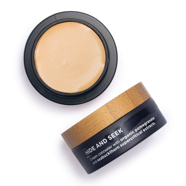 The Organic Skin Co. Hide and Seek Concealer (pot) Cosmetics - Face The Organic Skin Co. CARAMEL