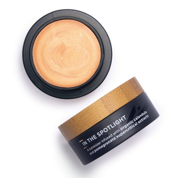 The Organic Skin Co. In the Spotlight Luminizer (pot) Cosmetics - Cheeks The Organic Skin Co. ROSE GOLD