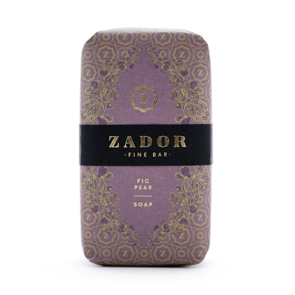 Zador Soap Fig & Pear Bath & Body - Bath & Shower Zador