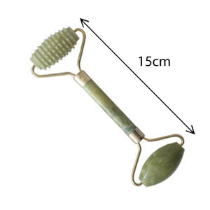 Jade Roller, Gua Sha Jade, Jade Facial Roller, Jade Roller Gua Sha Massage Tool Set, Natural Anti Aging, For Neck Face Eyes Head Body