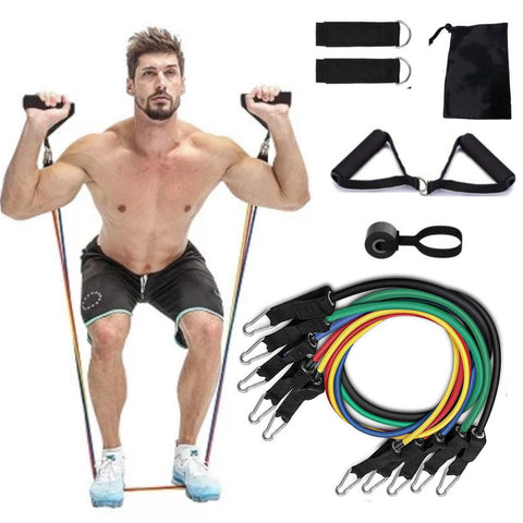 Resistance Bands The 11pc Set