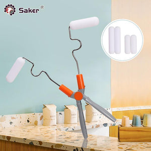 Saker® Adjustable Double Head Paint Roller(4*Brushs)