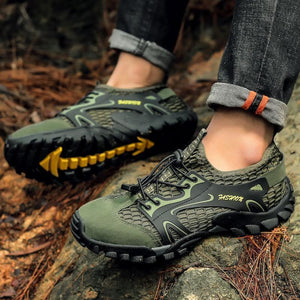 Breathable Mesh Outdoor Walking Shoes