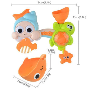 Spinning Baby Bath Toy