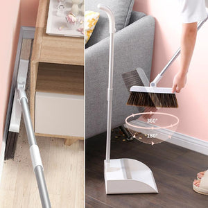 """Built-In Comb"" Rotating Broom"
