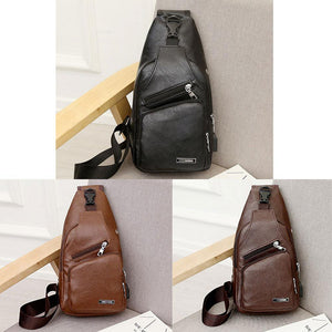 Crossbody Bag  With USB Charge Port