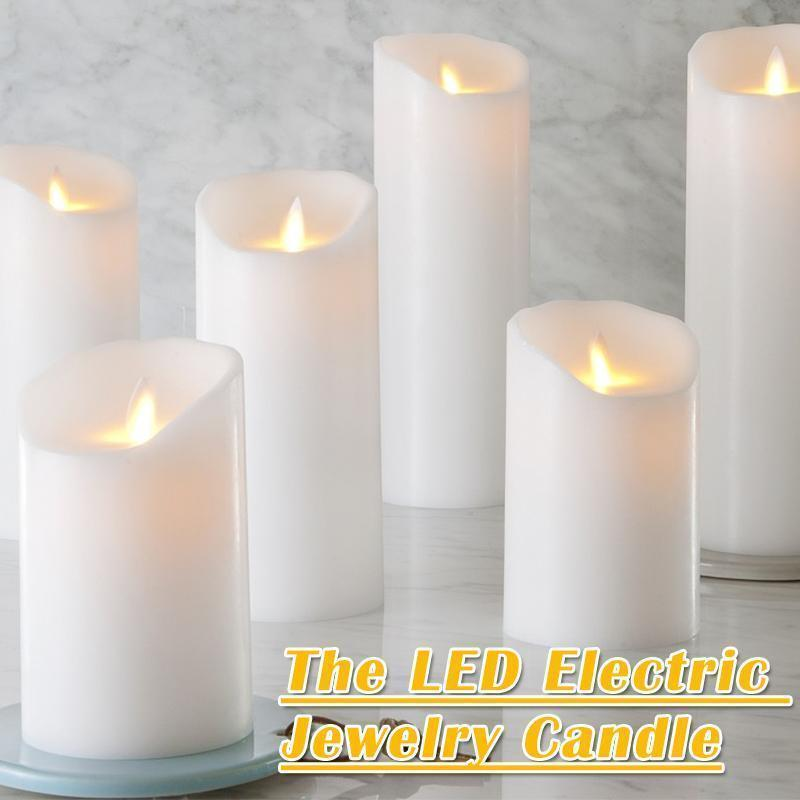The LED Electric Jewelry Candle