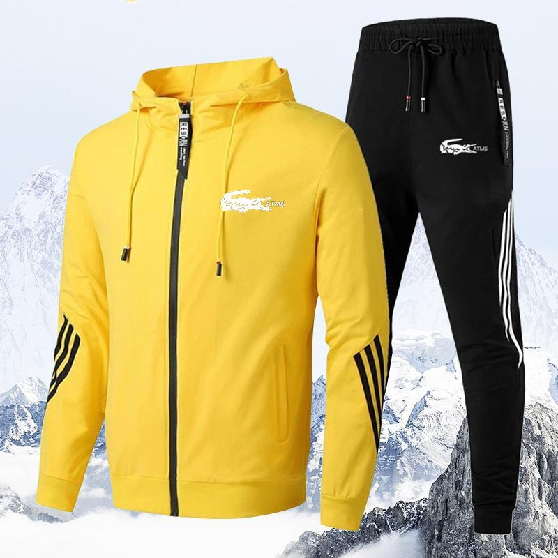 Men's zipper Sportswear (2 piece set)