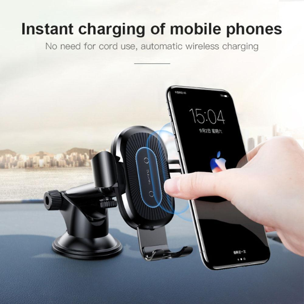 3 in 1 Wireless Charger & Car Phone Holder