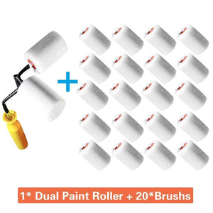 Roll All Hand-held Dual-paint Roller
