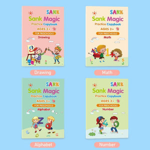 Pre-Sale>>Sank Magic Practice Copybook for Kids
