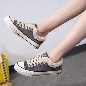 Hirundo Women Snow Casual Sneakers Athletic Shoes