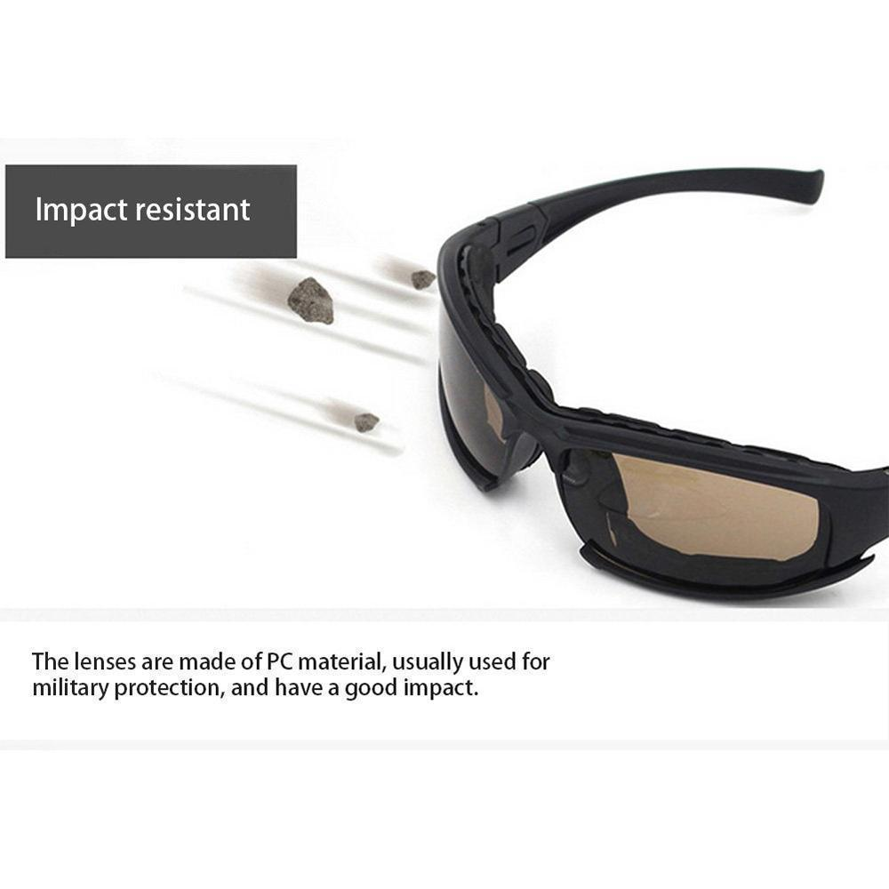 Non-Polarized Riding Glasses Motorcycle Goggles