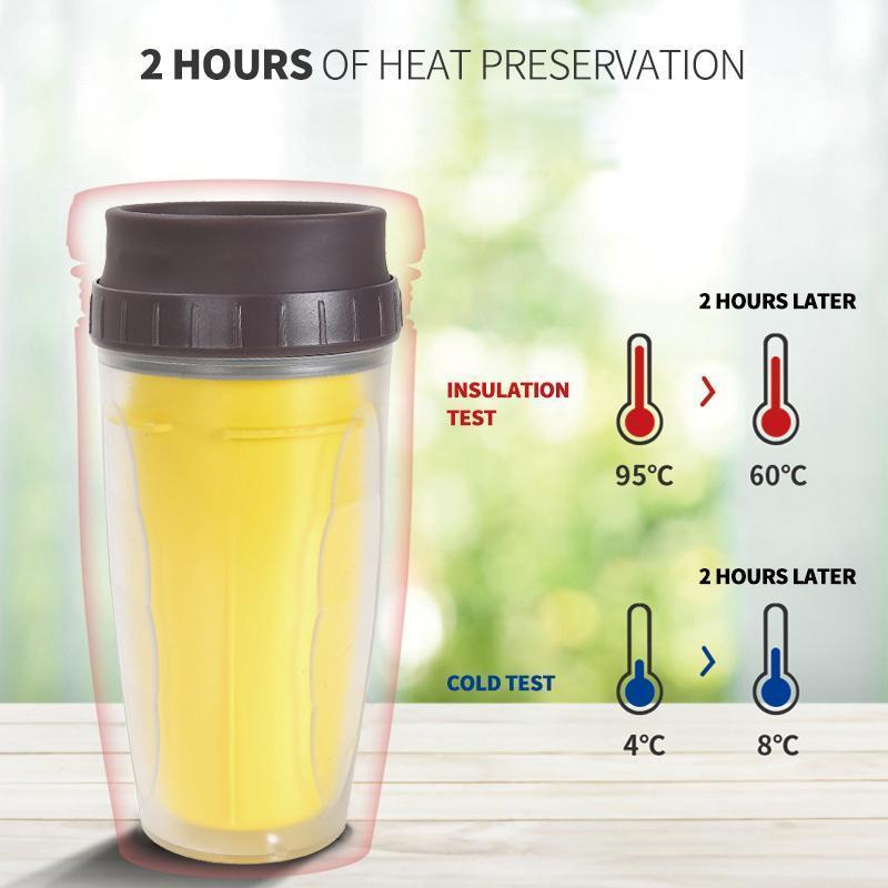 Coverless Twist cup,Creative Plastic Cup