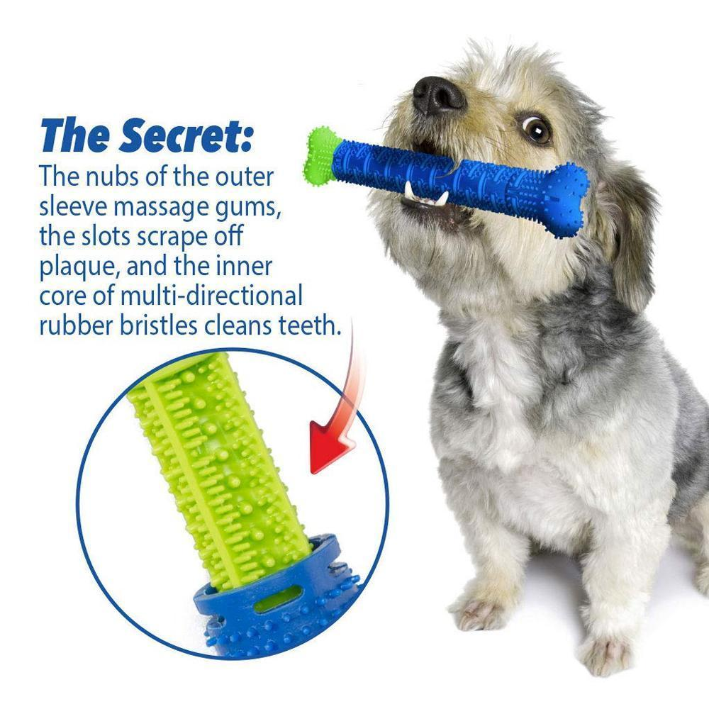 Dog Chewbrush Toothbrush | Teeth Cleaning Toy